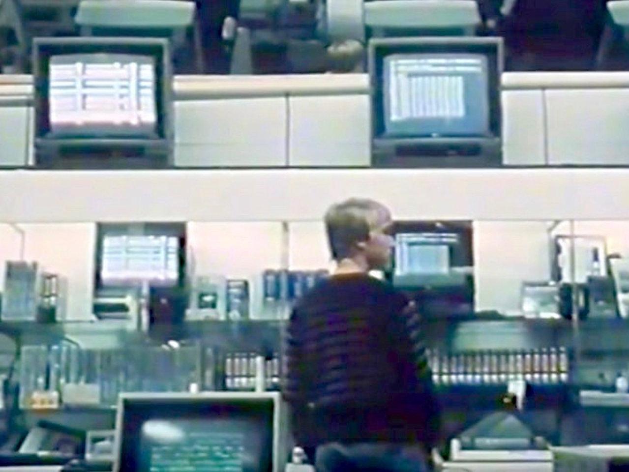 """Standbild aus """"Computerfieber - Die neue Lust im deutschen Familienalltag"""" (Thomas Schadt, Andreas Welser, NDR 1984)"""