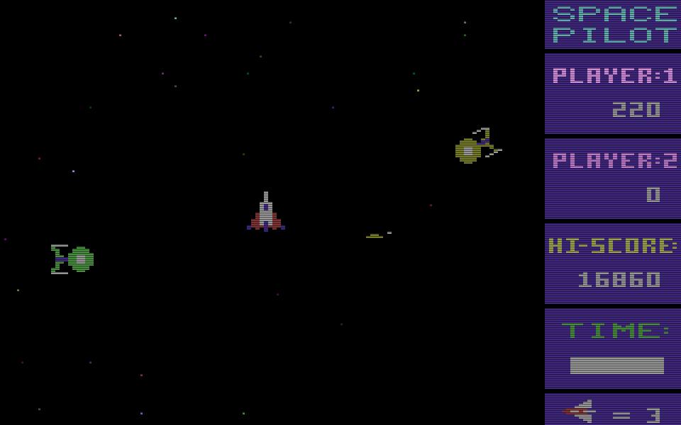 Space Pilot betitelt sich selbst als ein irres Weltraumspiel. (Bild: Kingsoft)