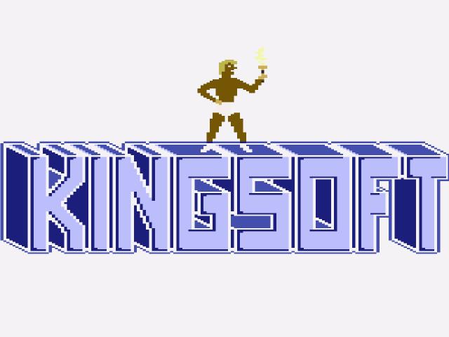 Ein Kingsoft-Logo aus den 1980er Jahren. (Bild: André Eymann)