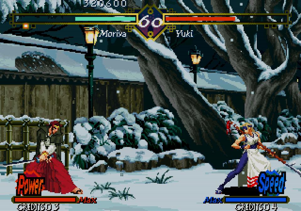 Für jeden Charakter gibt es zwei taktisch relevante Kampfmodi, genannt POWER und SPEED. (Bild: SNK)