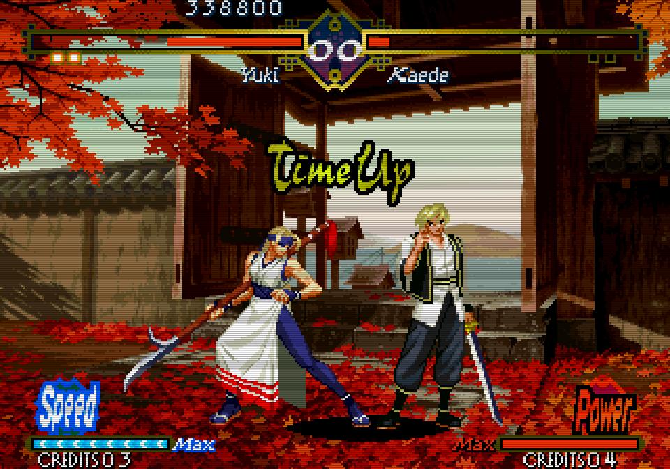 Die Zeit der 2D-Sprite Action geht in den späten 1990er Jahren zu Ende. Damit einhergehend endet auch die Blütezeit der (Video-) Spielhallen. (Bild: SNK)