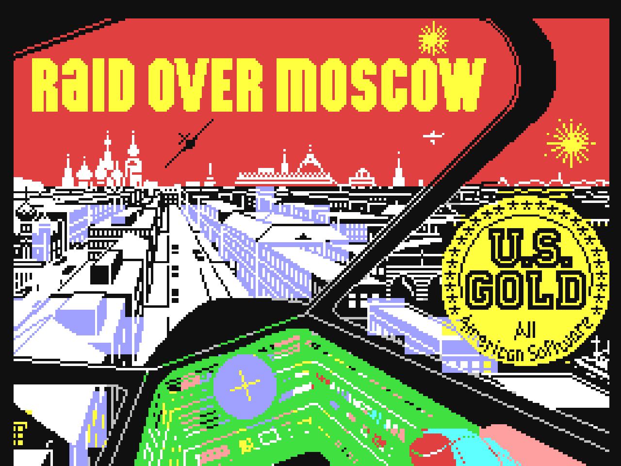 Raid over Moscow war ein großer Hit auf dem Commodore 64. (Bild: Access Software)