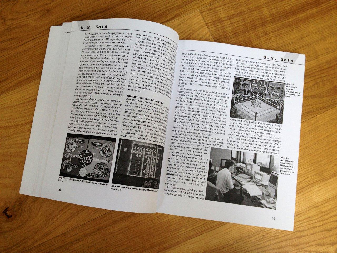 Eine typische Doppelseite aus dem Buch. (Bild: André Eymann)