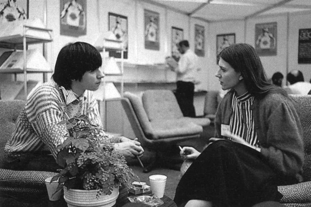 Boris Schneider mit Anita Sinclair von Magnetic Scrolls ...