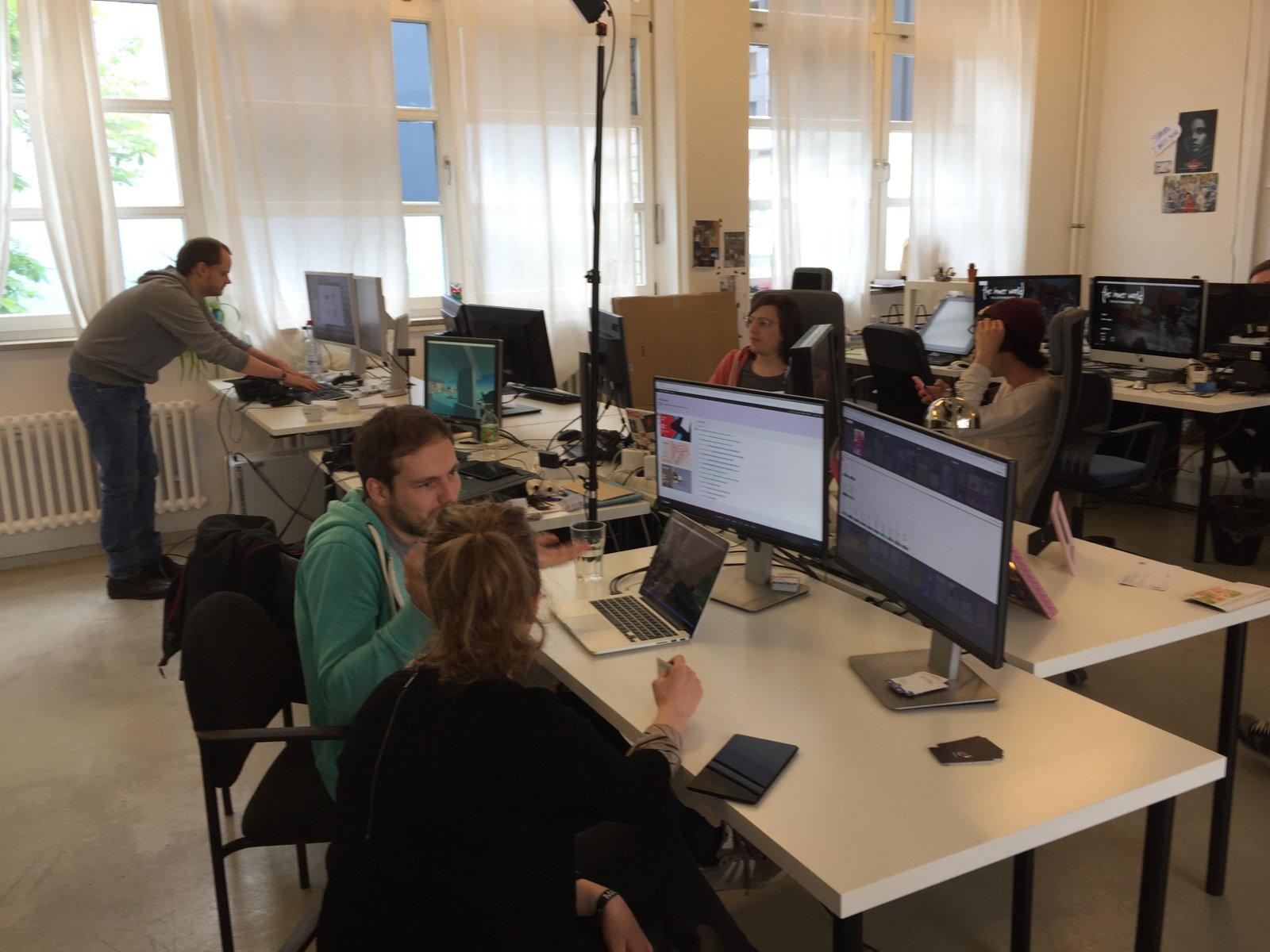 Der Saftladen - das Indie Kollektiv in dem TTDOT seit Januar entwickelt wird. (Bild: Jörg Friedrich)