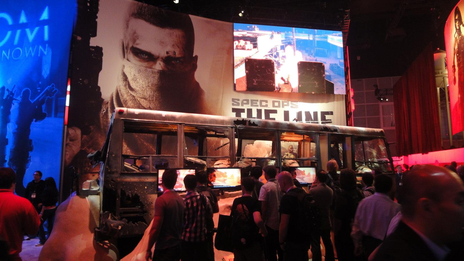Spec Ops auf der E3 2012. (Bild: Jörg Friedrich)