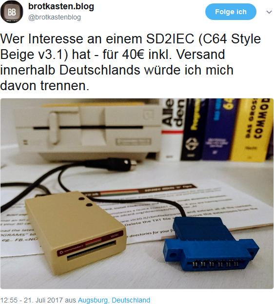 Tweet von Stephan Ricken auf Twitter. (Bild: Ferdinand Müller)