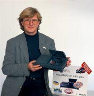 Winrich Derlien 1994 mit dem Philips CDi System. (Bild: Winrich Derlien)