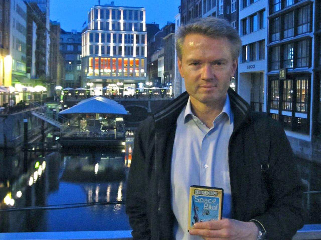 Henrik Wening im Sommer 2011 in Hamburg. (Bild: André Eymann)