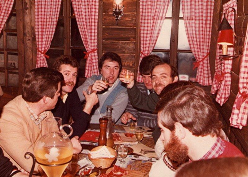 Ein Foto vom Atari International Meeting in Zermatt. Aufgenommen im Winter 1984. (Bild: Klaus Ollmann)