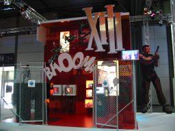 So sah 2003 der XIII Stand auf der Games Convention in Leipzig aus. (Bild: Michael Sölkner, http://www.testpott.de)