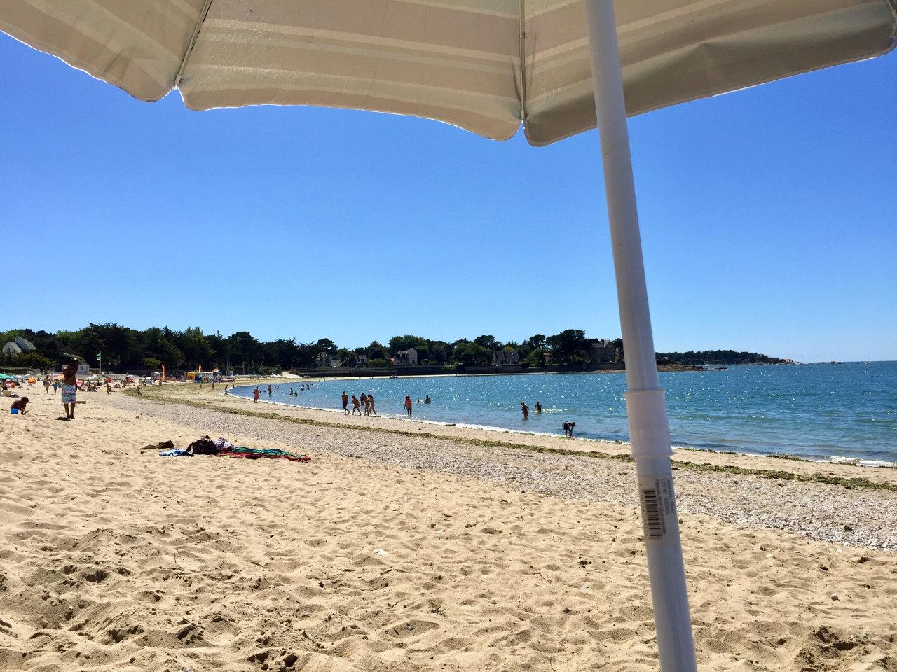 Sommer in der Bretagne. Heisser Sand und Erinnerungen an die Arcades vergangener Tage. (Bild: André Eymann)