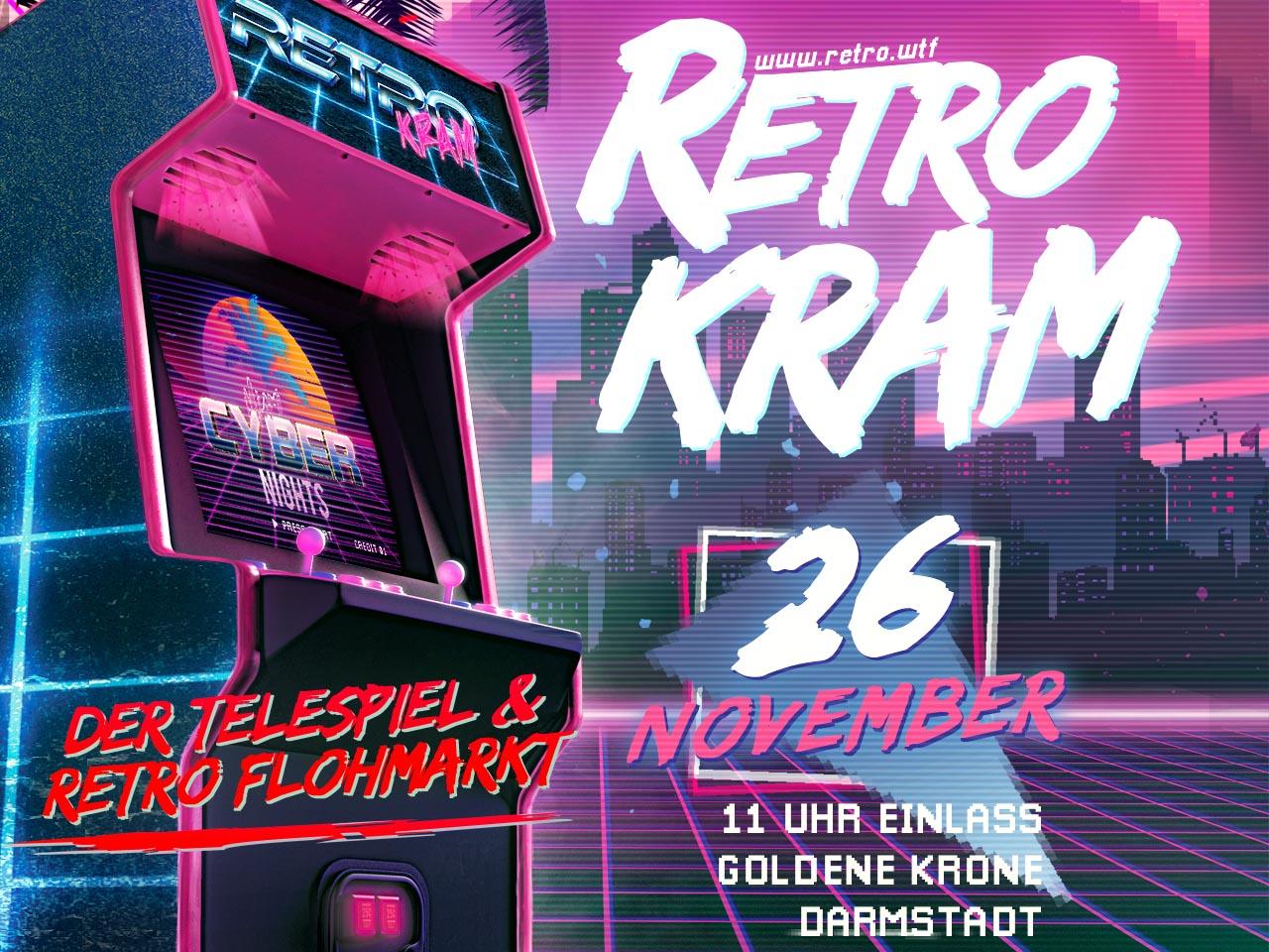 Retrokram - Der Telespiel und Retro Flohmarkt