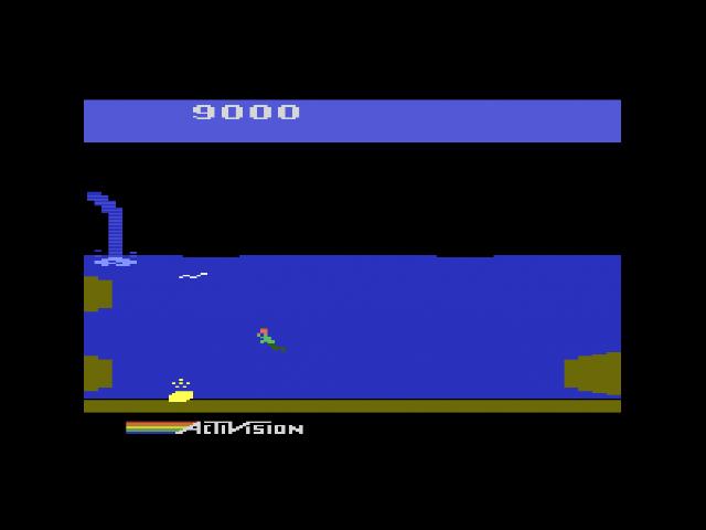 Pitfall II, Version für das Atari 2600. (Bild: Activision)