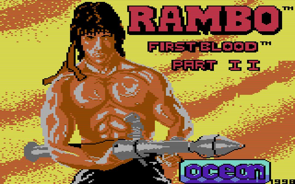 Rambo führt Krieg auf dem Computer. (Bild: Ocean)