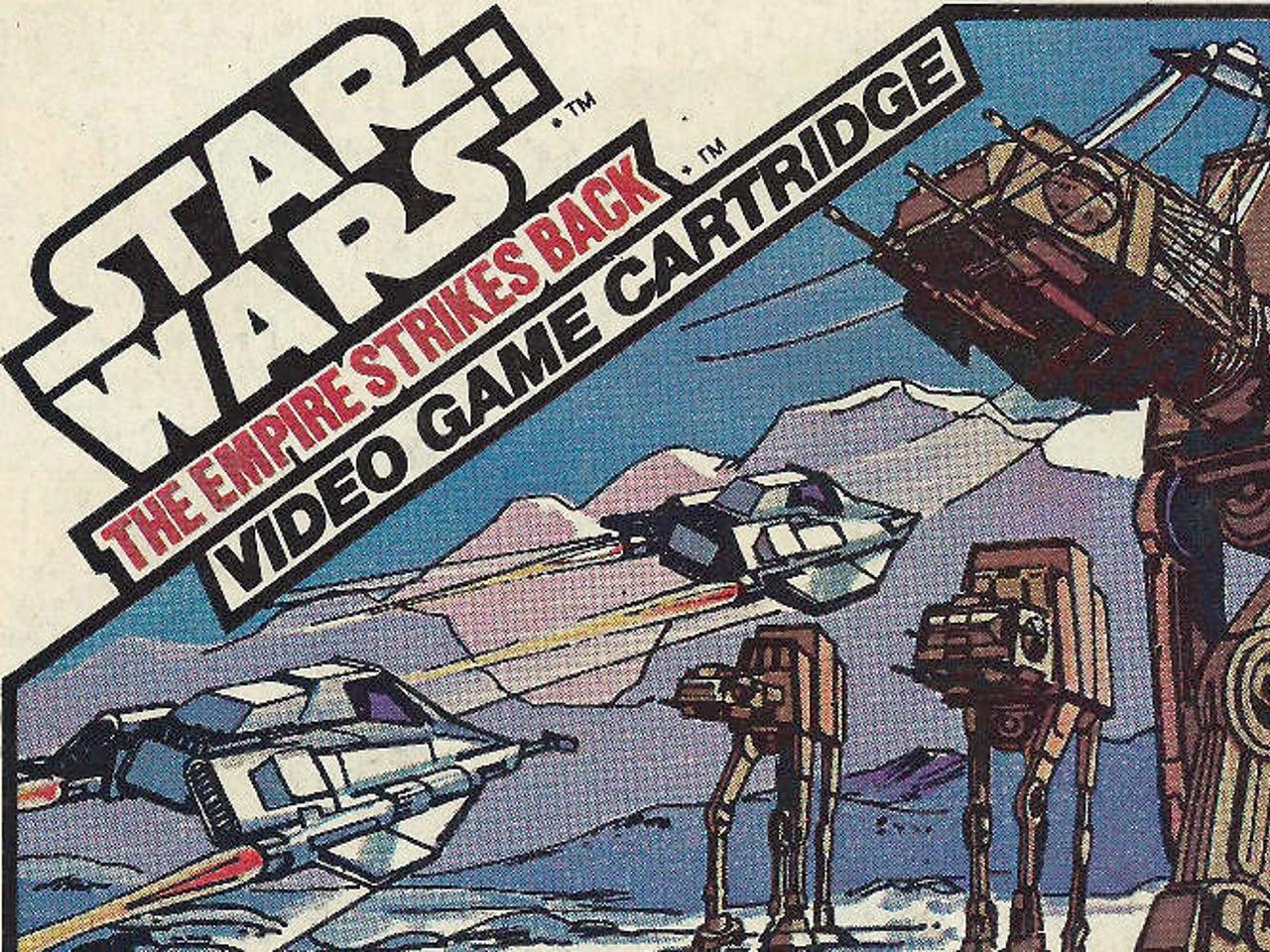 Illustration zu einem Star Wars Videospiel von Parker für das Atari VCS. (Bild: Parker)