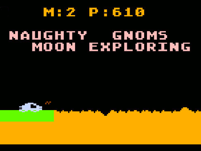 Naughty Gnoms Moon Exploring. (Bild: Yoda Zhang)