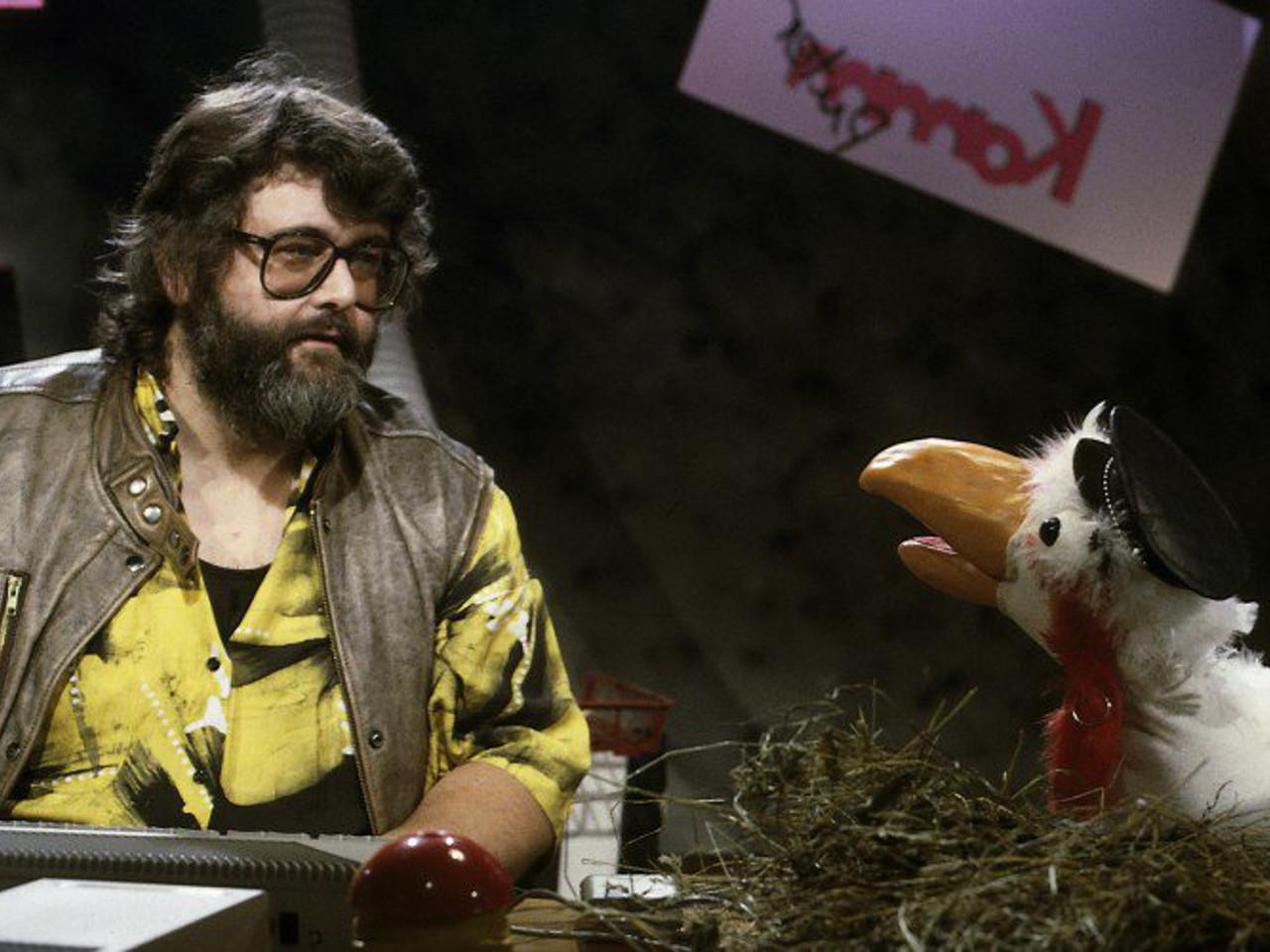 Wissensvermittlung mit Puter. Klaus Möller führte voller Humor durch die neue Welt der Technik. (Bild: ZDF und Look Video & Film Wiesbaden)