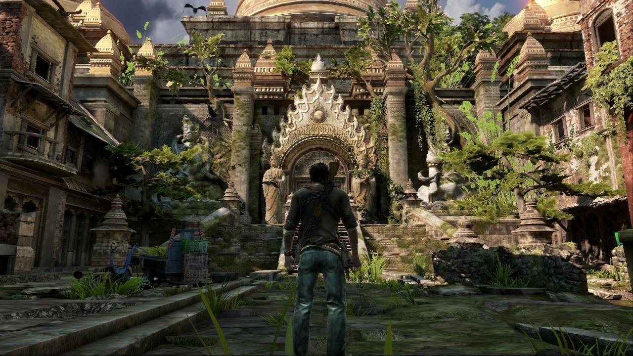 Ruhepause zwischen zwei Schusswechseln in Uncharted 3. (Bild: Christian Gehlen)