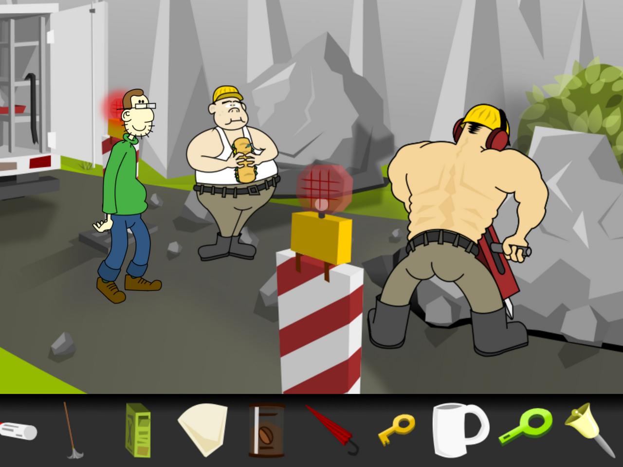 Argh! Earthlings! ist nicht nur ein Spiel für harte Kerle... (Bild: Damian Thater)