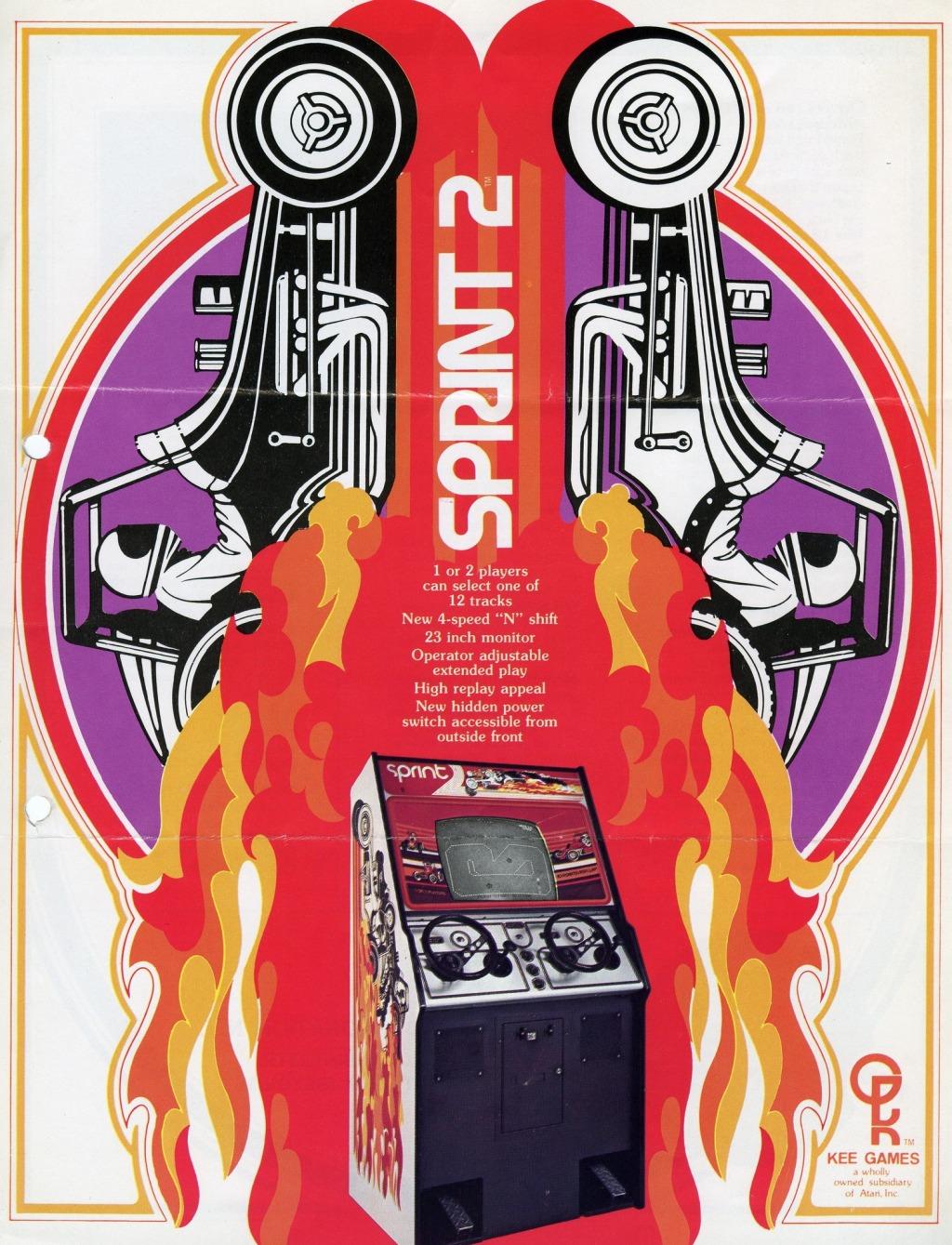 Werbung für Sprint II. (Kee Games, 1976)