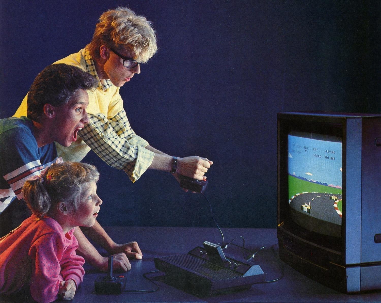 Werbung von Pole Position. (Atari, 1982)