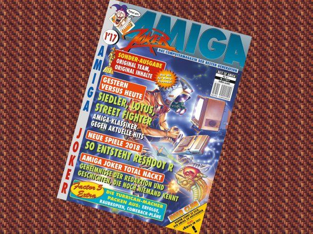 Amiga Joker Ausgabe 1 ist das erste neue Heft seit 1996! (Bild: amigashop.org)