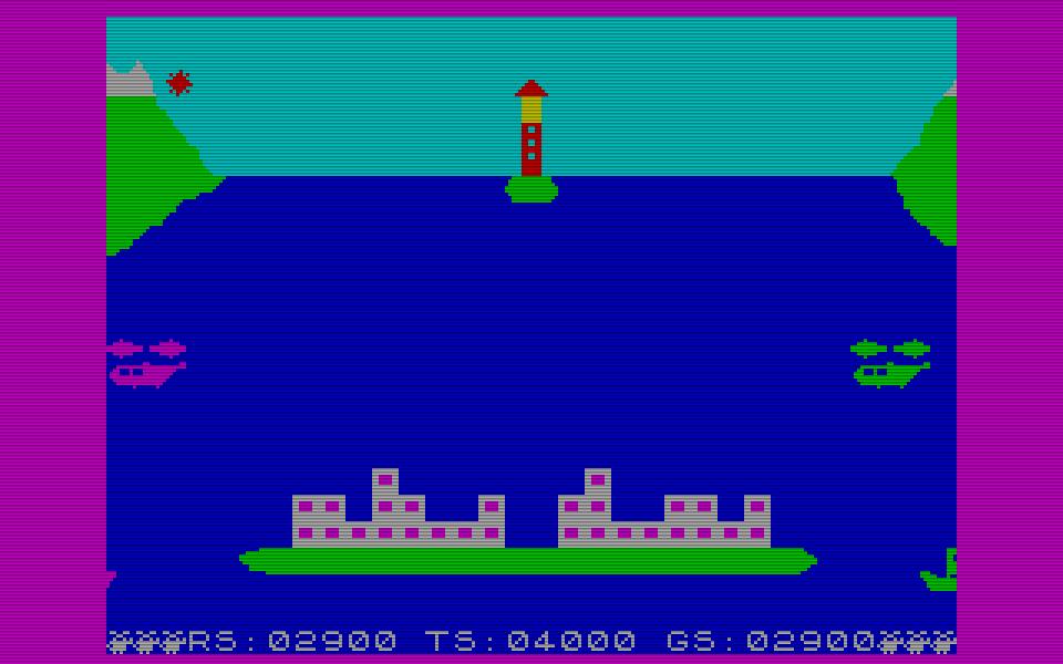 Die Version für den ZX Spectrum erschien 1984. (Bild: Novotrade Rt.)