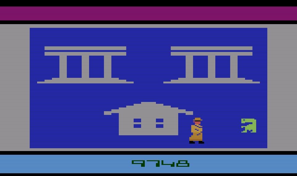 E.T. - Telefonieren nach Hause. Oder lieber nach Mexiko, wo meine Brüder begraben sind... (Bild: Atari)