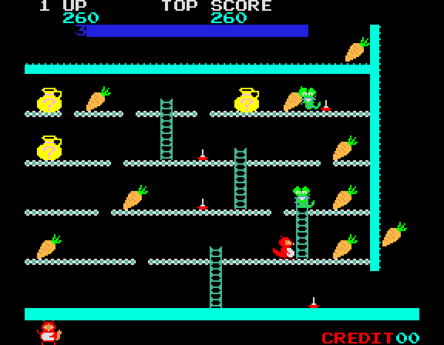 Ponpoko von 1982. (Bild: Sigma Enterprises)