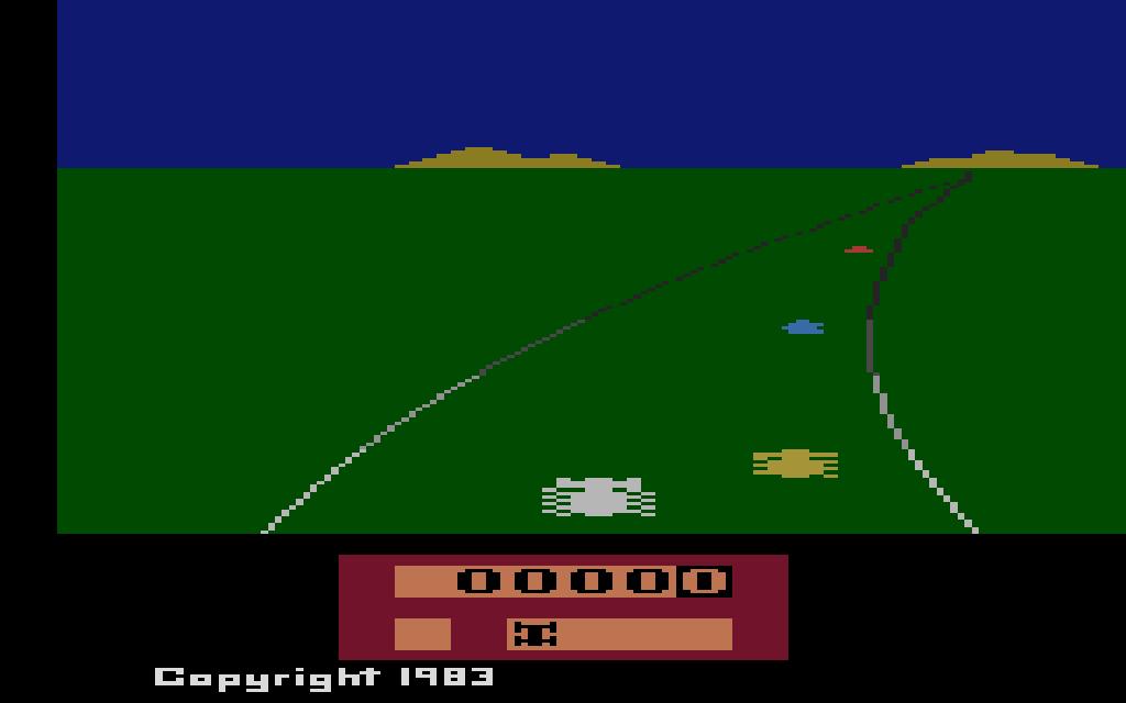 Enduro. (Activision, 1983)
