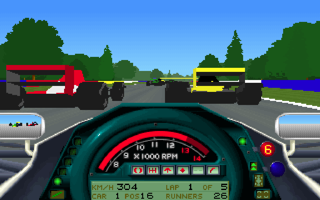 Formula One Grand Prix. (Microprose, 1992)