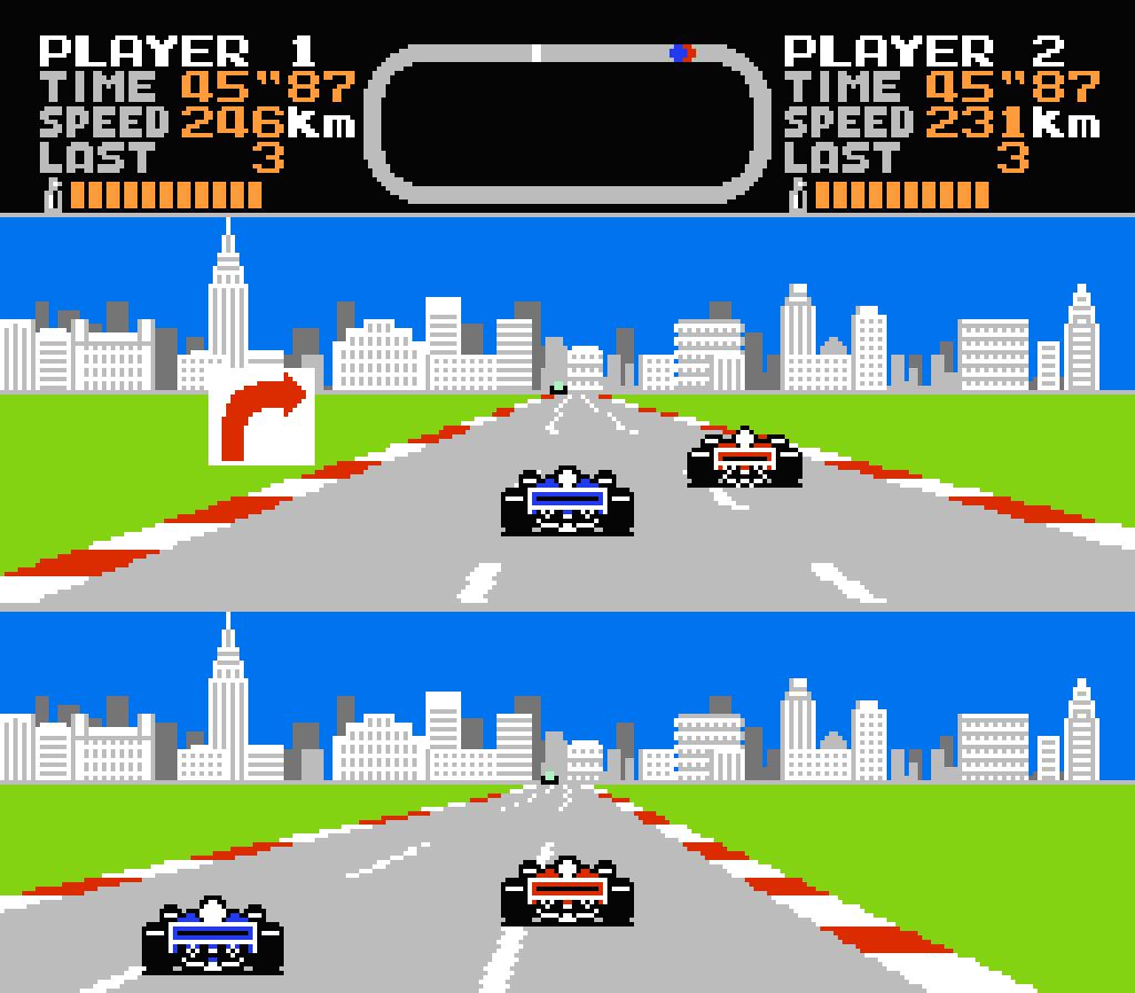 Final Lap. (Namco, 1987)