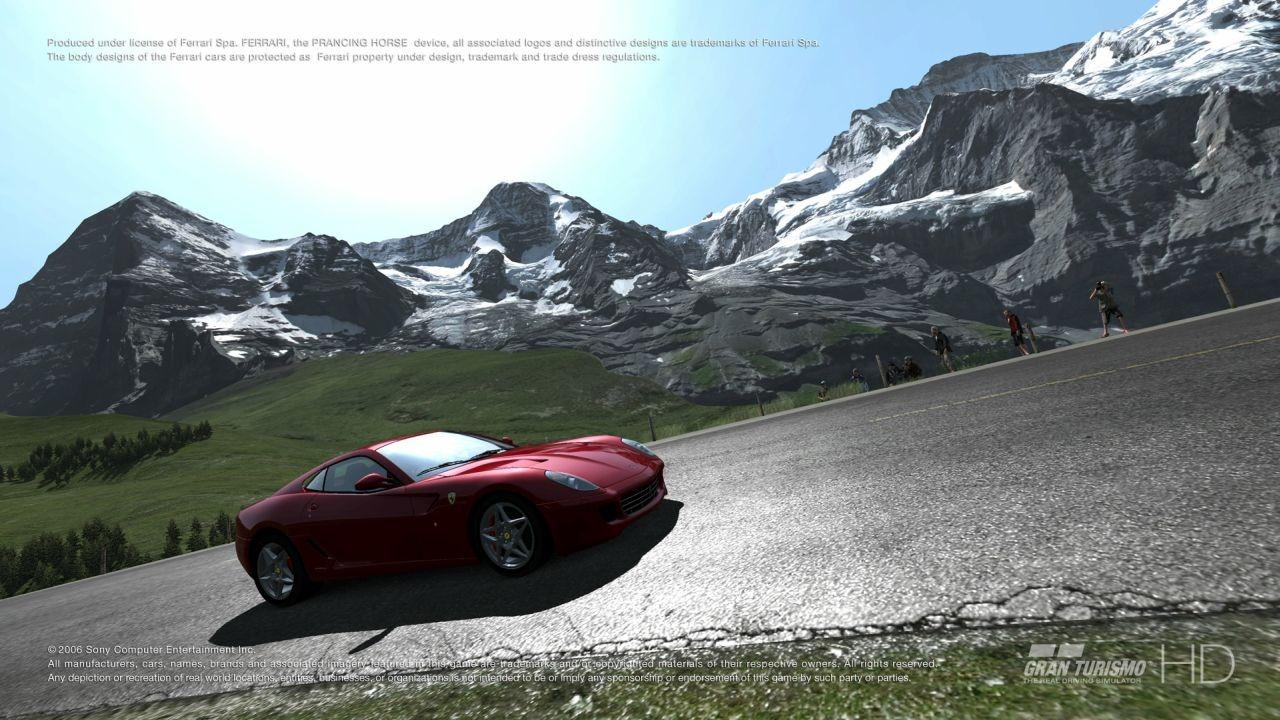 Gran Turismo HD. (Sony, 2006)