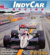 Spielverpackung von IndyCar Racing. (Papyrus Design Group, 1993)
