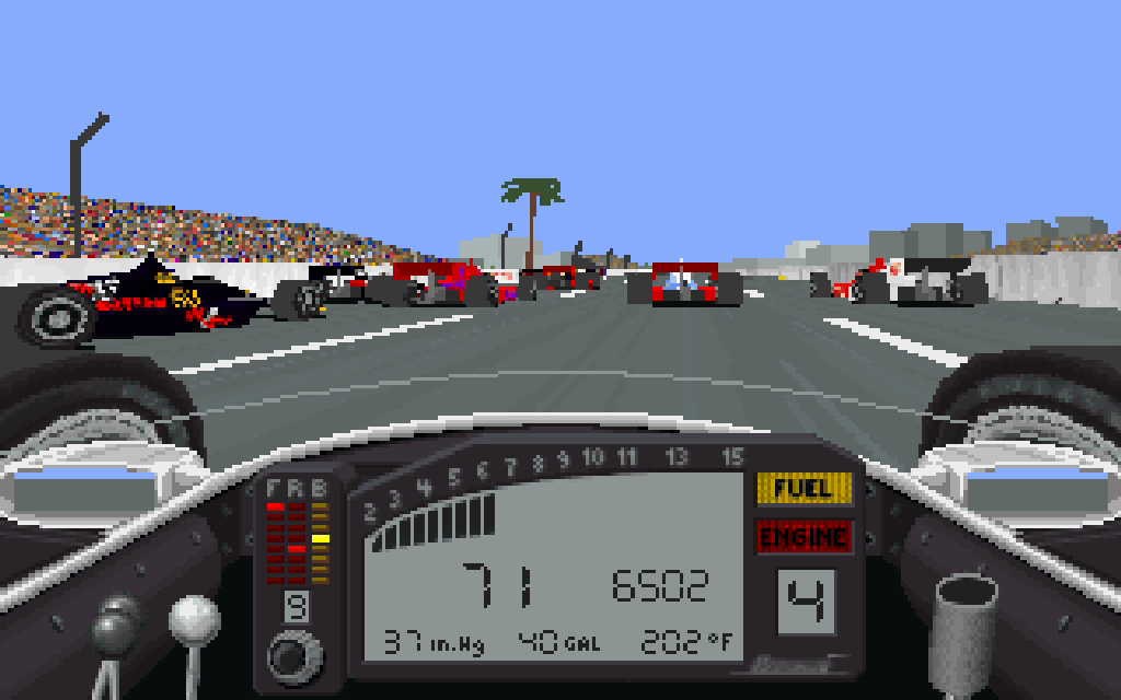 IndyCar Racing. (Papyrus Design Group, 1993)