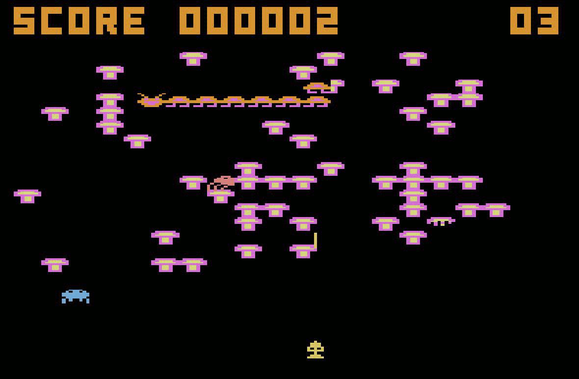 Megalegs - Viele Beine, ein guter Klon des Originals. (Bild: Atari)