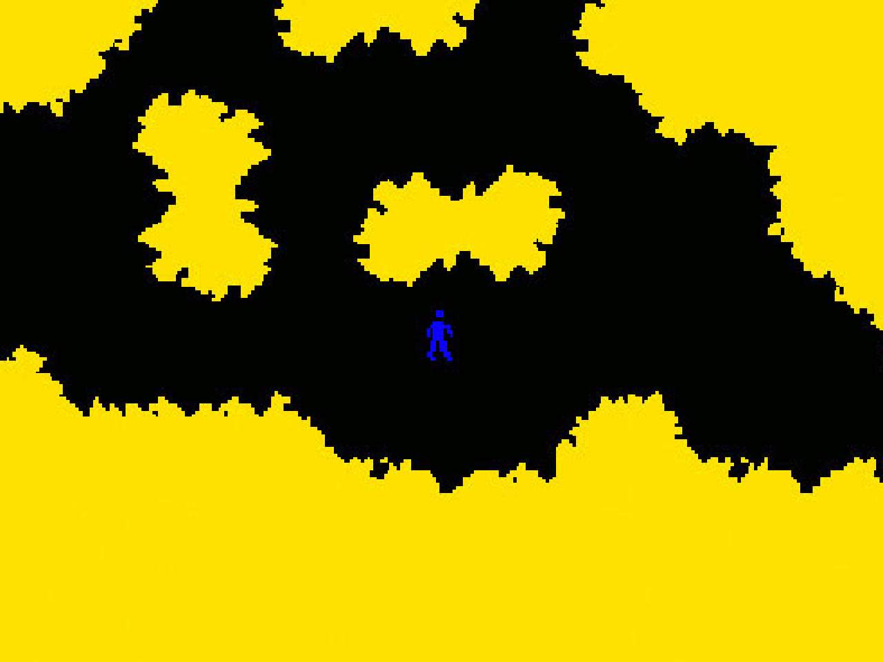 Finde den Schatz in der BASIC-Höhle. (Bild: Yoda Zhang)