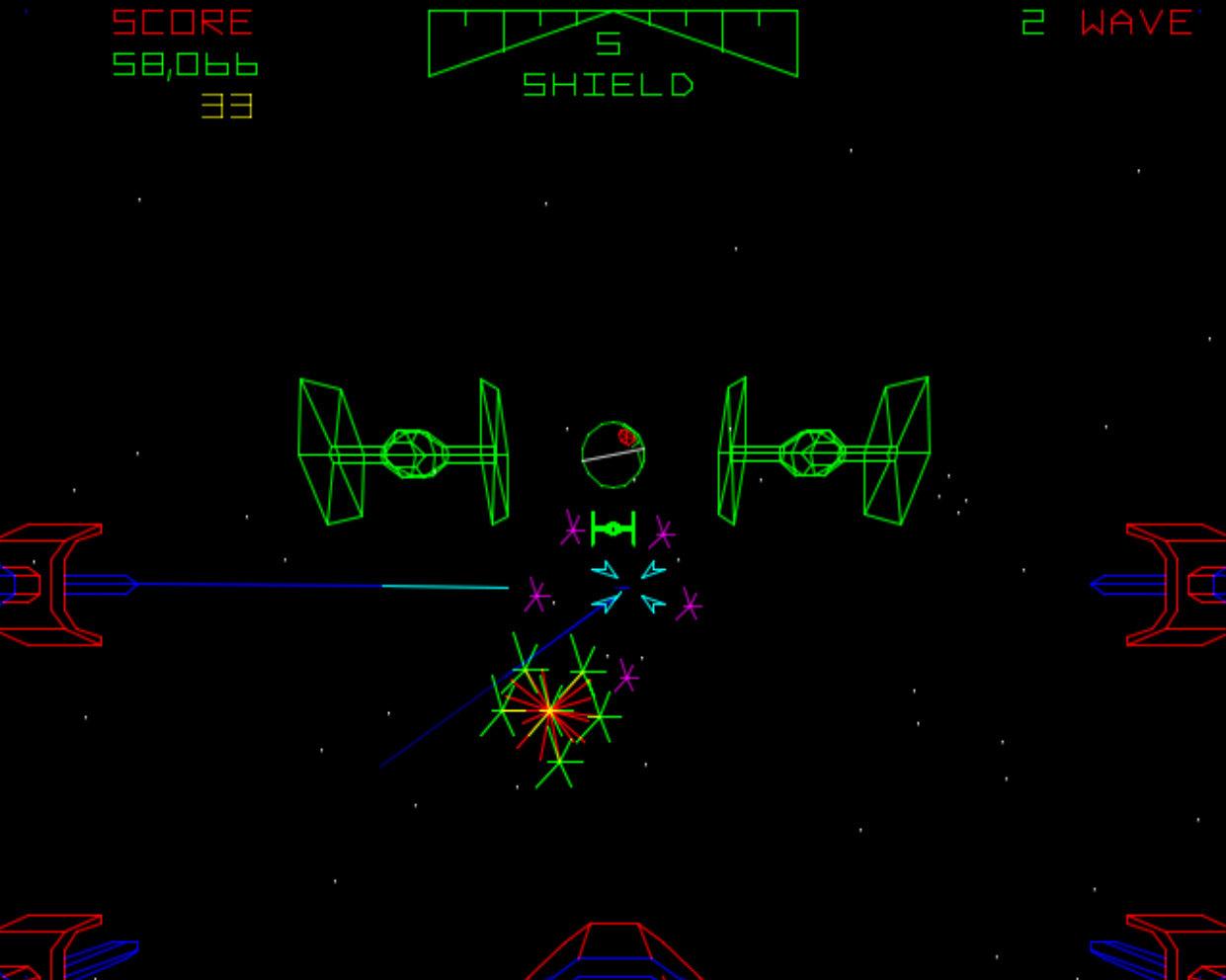 Star Wars von Atari. Lass Dich niemals zu einem Spiel einladen! (Bild: Atari)