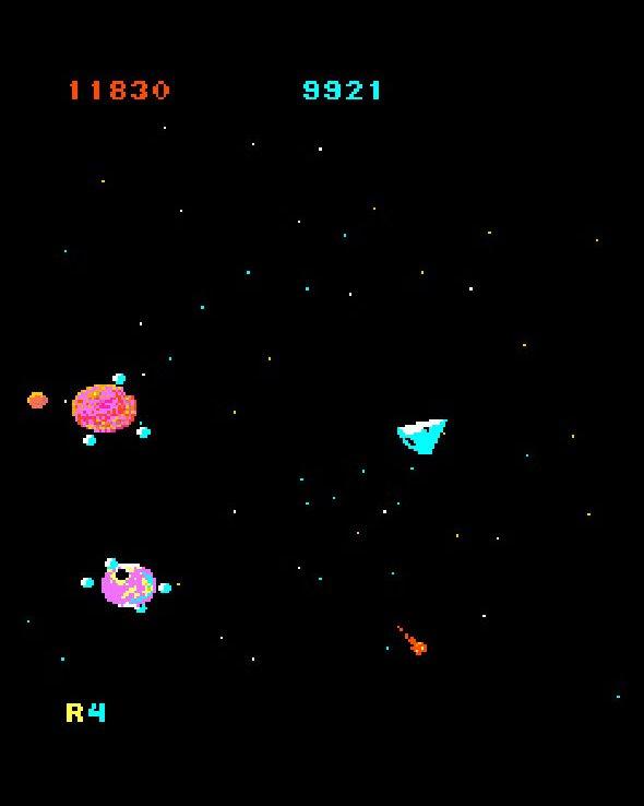 Mad Planets von Gottlieb. Sieht erstaunlich friedlich aus. (Bild: Gottlieb)