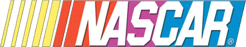 Offizielles Logo der Nascar. (National Association for Stock Car Auto Racing)