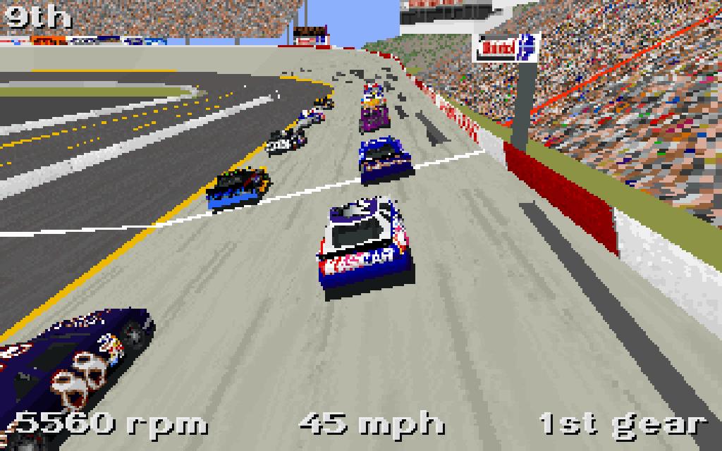 Nascar Racing. (Papyrus, 1994)