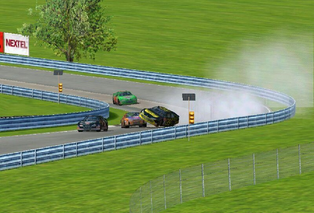 Nascar Racing 4. (Papyrus Design Group, 2001)
