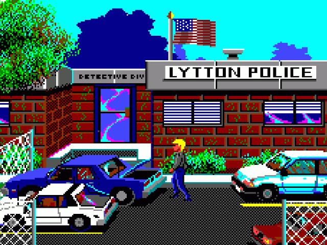 Police Quest II: The Vengeance erschien 1988. (Bild: gog.com / Sierra Online)