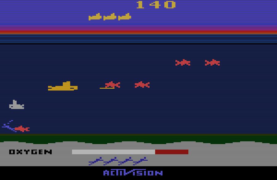 Farbenfrohes Unterwasser-Spektakel: Seaquest bietet mehr, als man auf den ersten Blick erahnen kann ... (Bild: Activision)