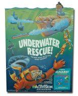 Mit diesem schön illustrierten Pappaufsteller wurde Seaquest von Activision seinerzeit in Nordamerika beworben. (Bild: Activision)