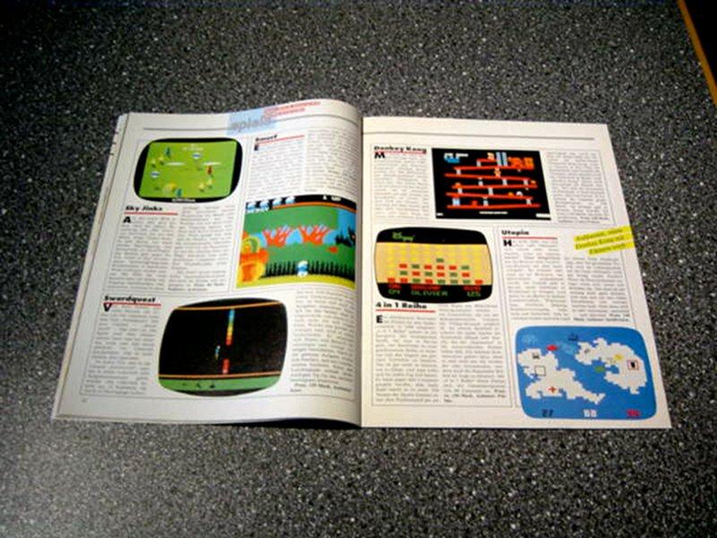 Die Spieletests in der tele action wurden mit farbigen Screenshots illustriert. (Bild: Ehapa-Verlag)