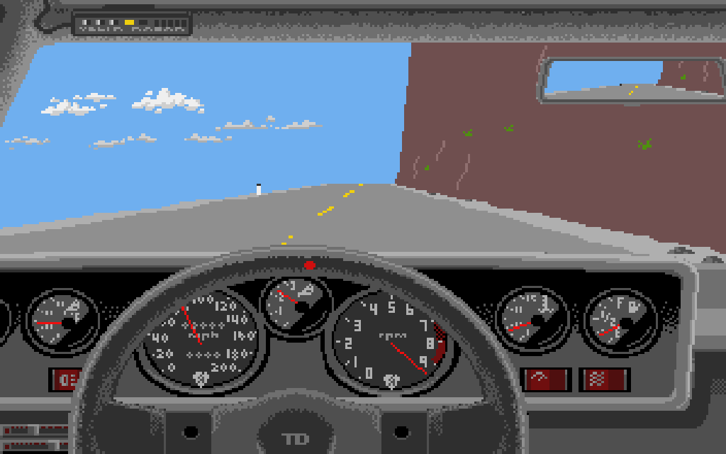 Test Drive. (Accolade, 1989)