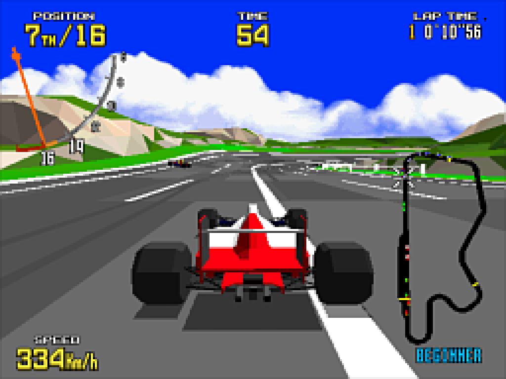 Virtua Racing. (Sega, 1992)