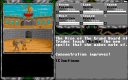 Das Rollenspiel Legend of Faerghail. (Bild: Rainbow Arts, 1990, Amiga)
